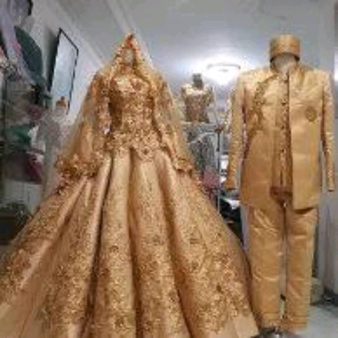 Gaun Pengantin Modern Couple