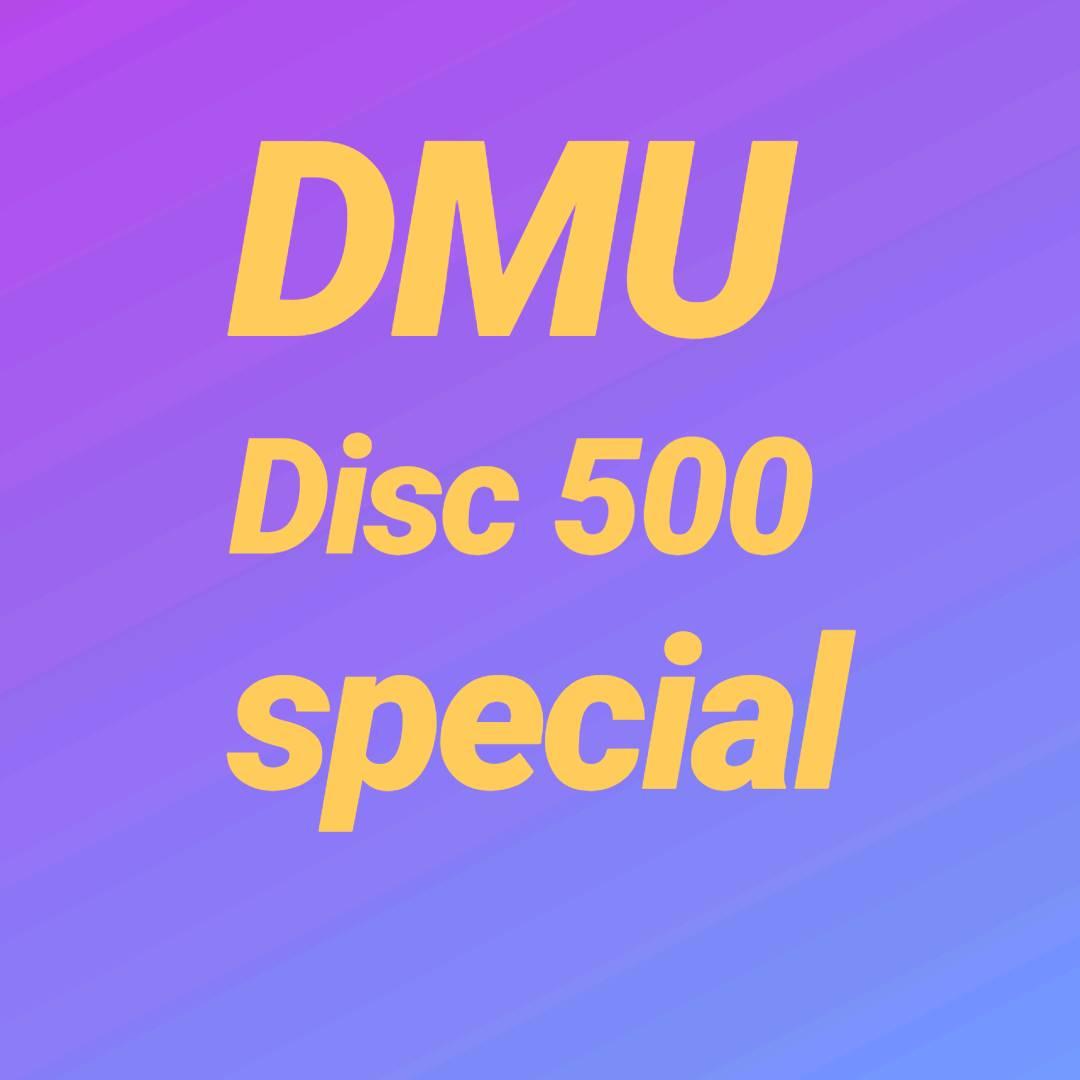 1 DMU disc 500