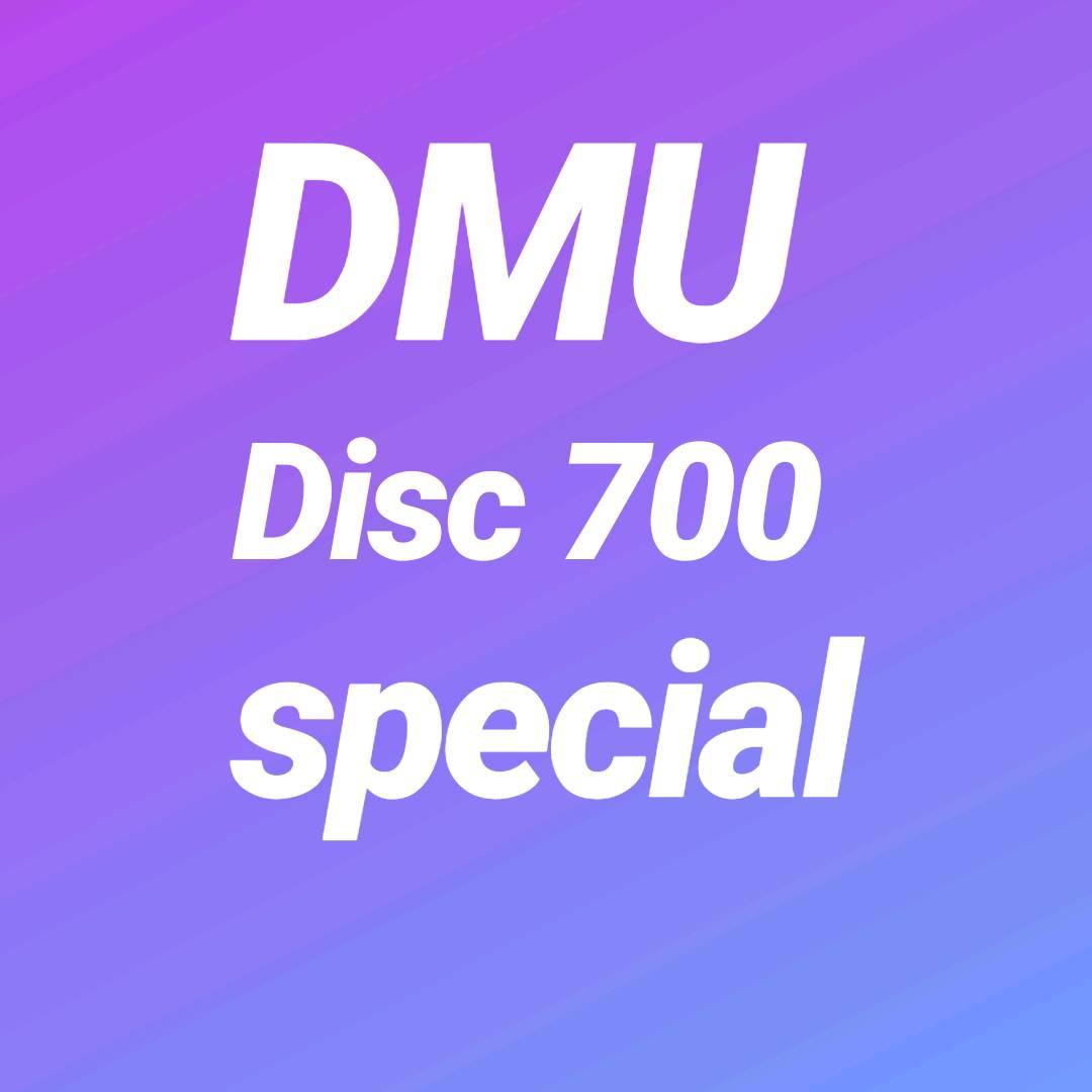 1 DMU disc 700