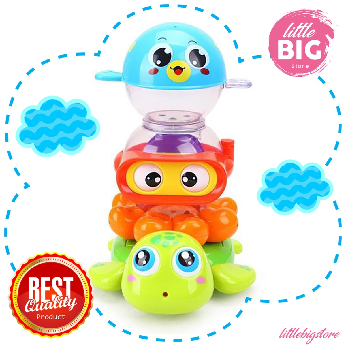 Mainan Anak - Happy Bath Time / Amphibi Toys