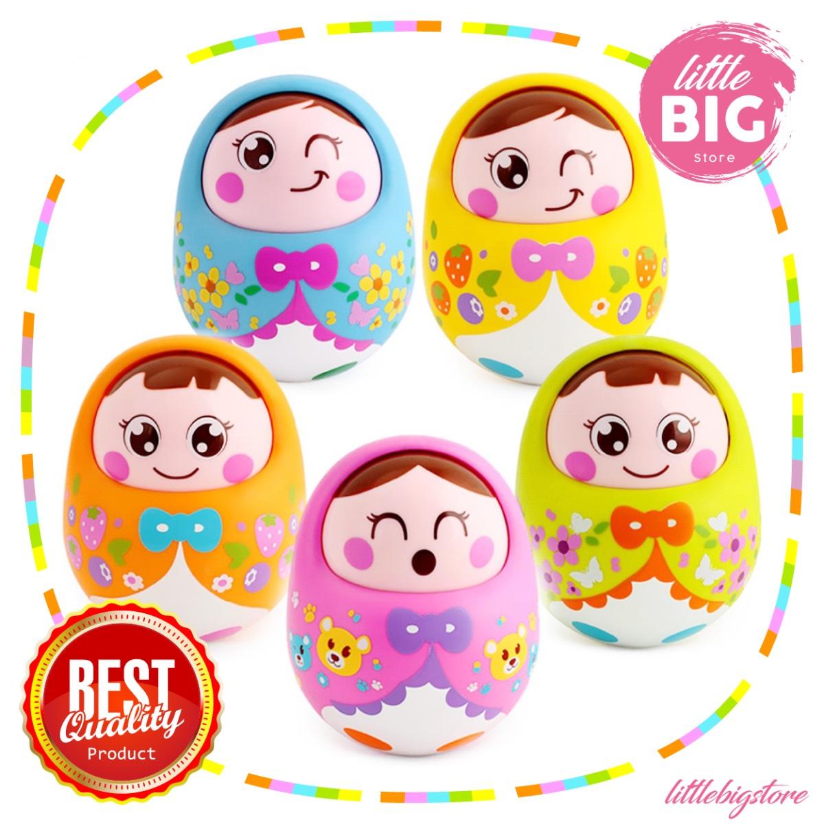 Mainan Balita - Tumbler Doll / Boneka Angguk / Boneka Goyang
