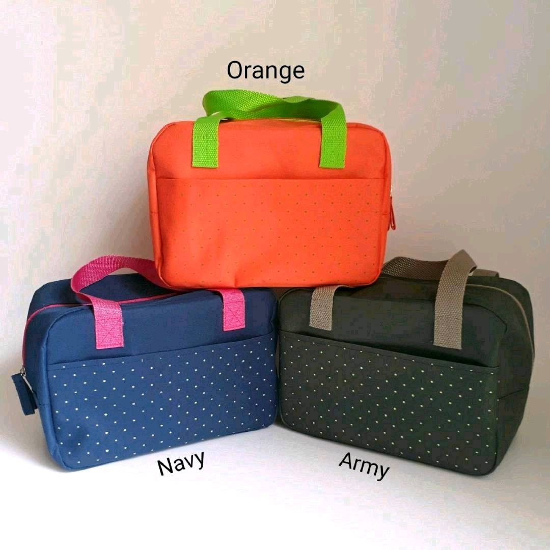 Lunch Bag/Cooler Bag/Tas Bekal- Orange