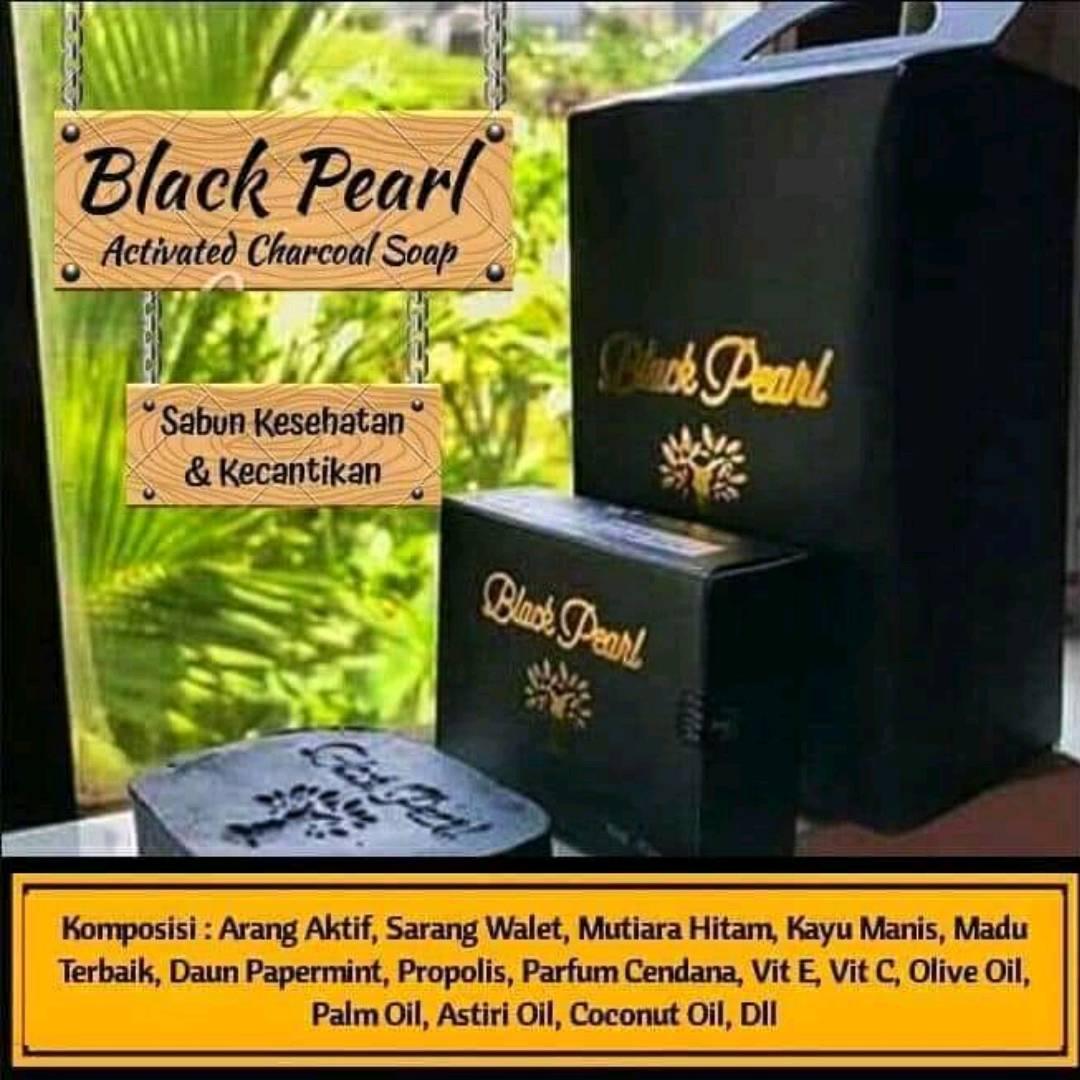 Sabun Mandi Kesehatan Black Pearl 3 box