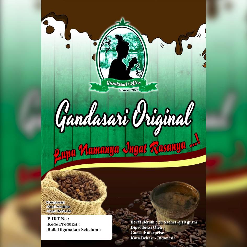 Gandasari Coffee Sachet Original1
