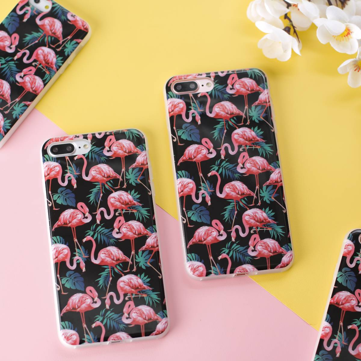 Flora Flamingo Case