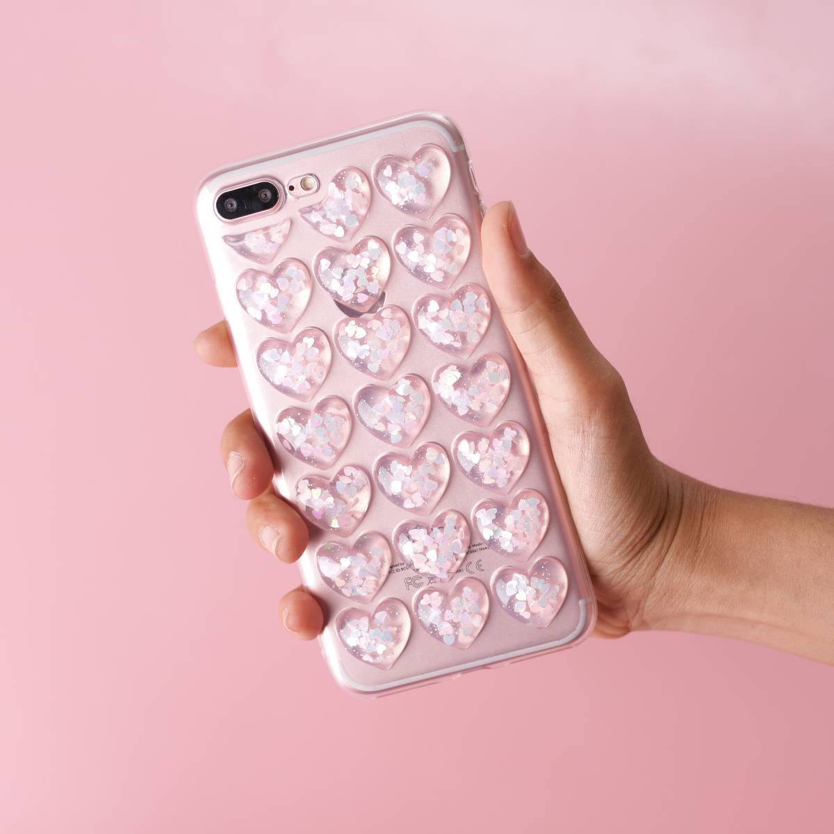Icy Heart Soft 3d Case