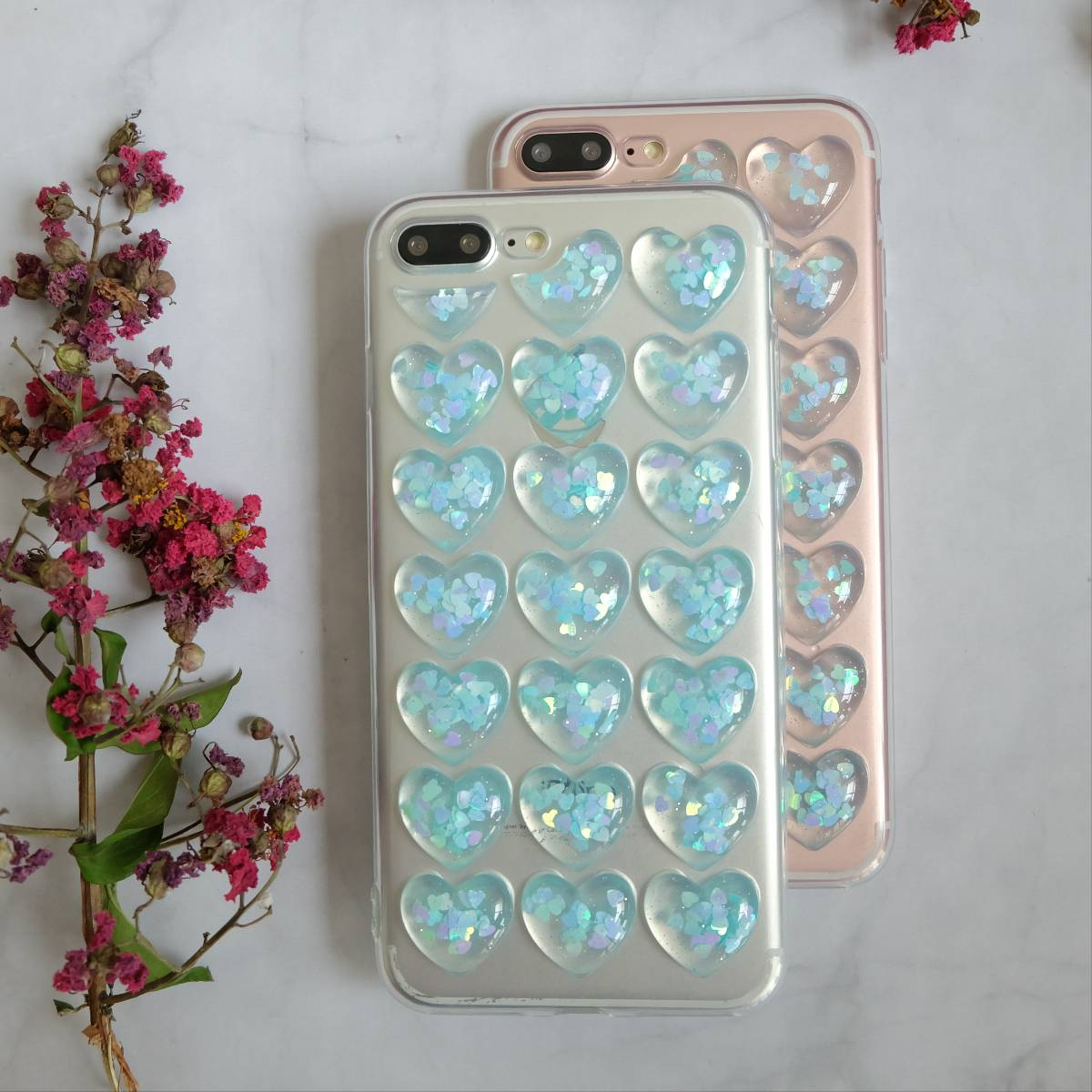 Icy Heart Soft 3d Case3