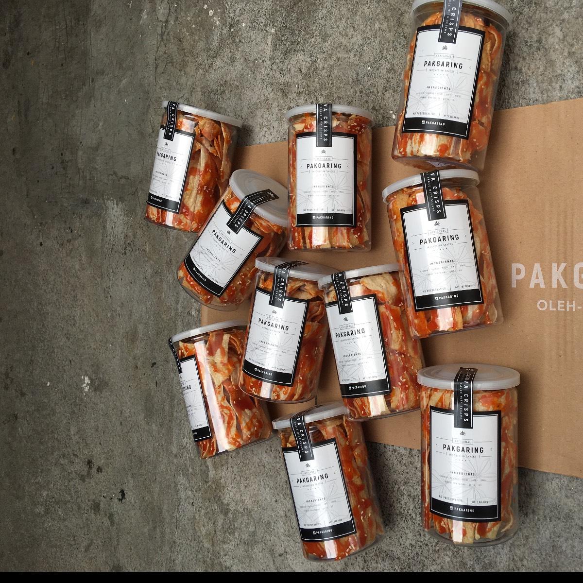Paket 10 Opak Singkong Balado (toples)