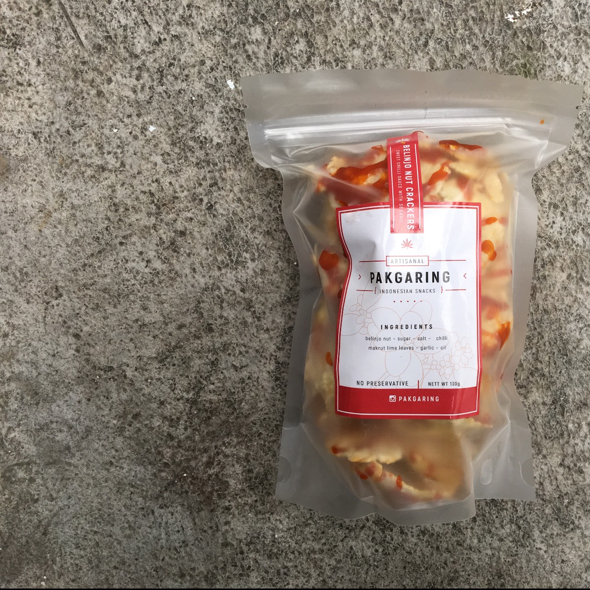 Emping Balado (plastik)