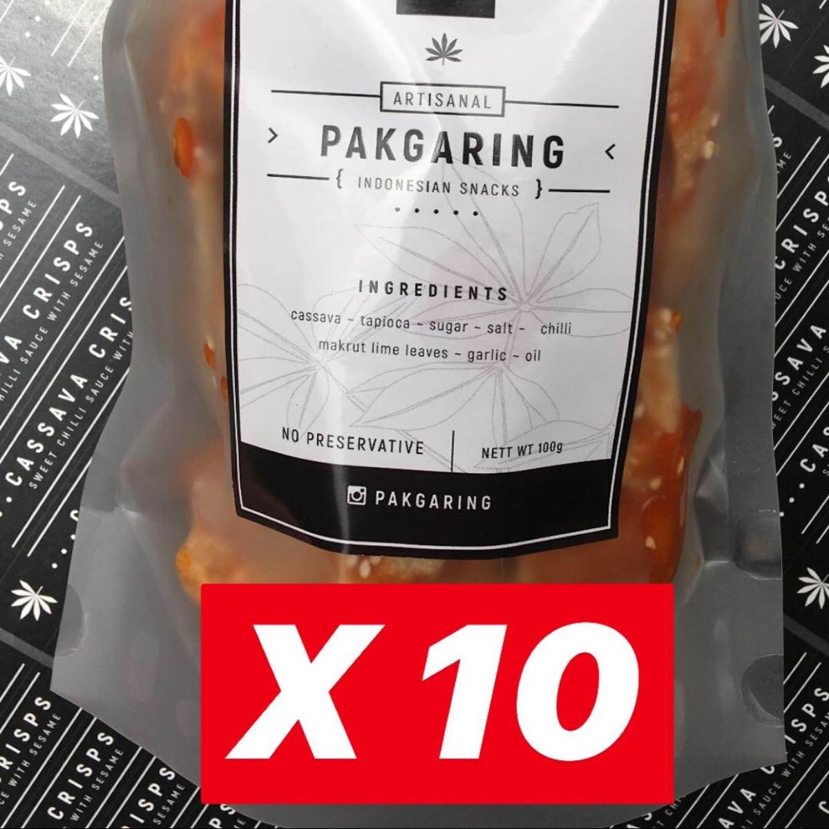 Paket 10 Opak Balado (plastik)