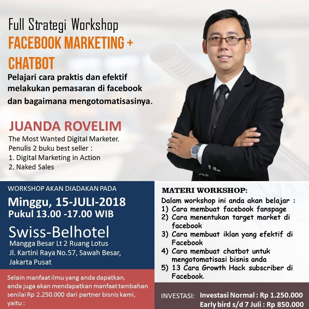 Workshop Fb Marketing + Chatbot