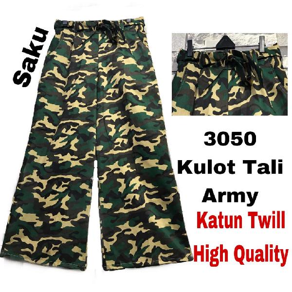 Celana Kulot Army0
