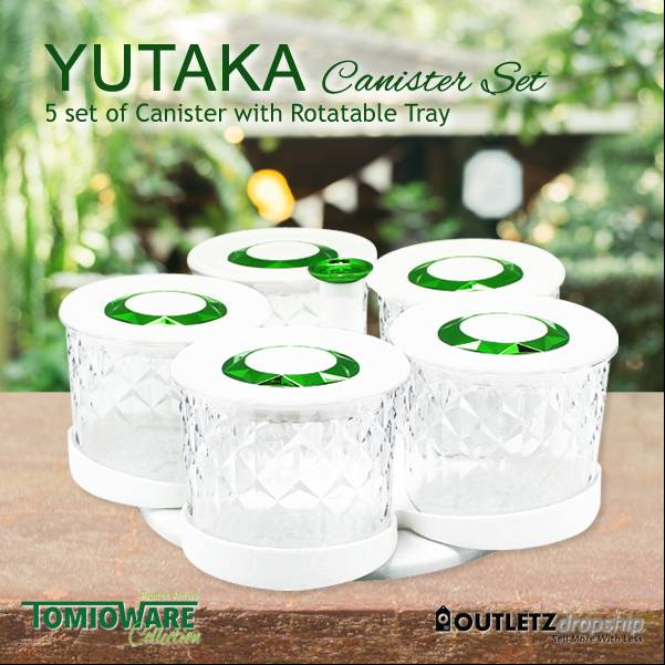 Yutaka Canister Set By Tomioware Collection