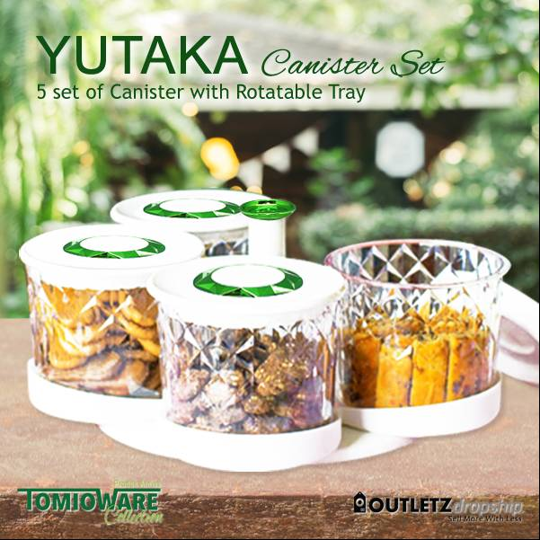 Yutaka Canister Set By Tomioware Collection1