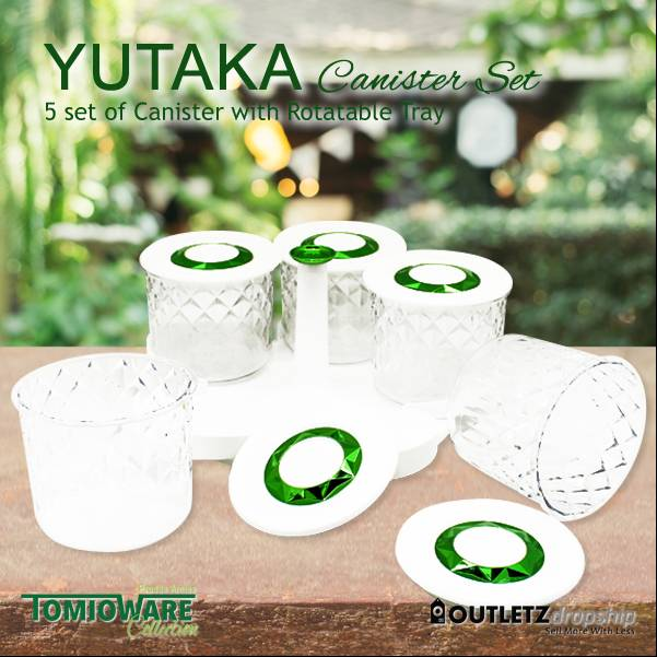 Yutaka Canister Set By Tomioware Collection2