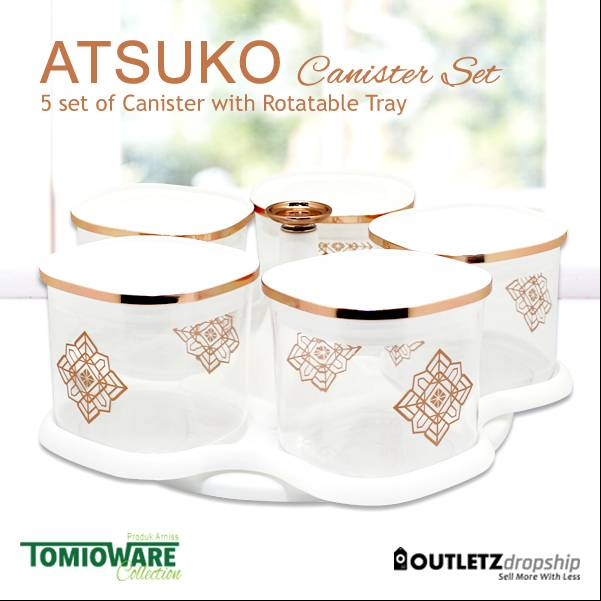 Atsuko Canister By Tomioware Collection