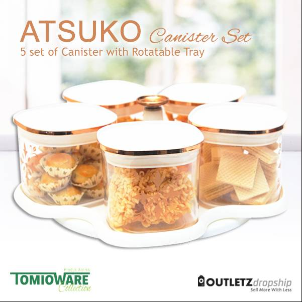 Atsuko Canister By Tomioware Collection1