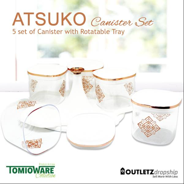Atsuko Canister By Tomioware Collection2