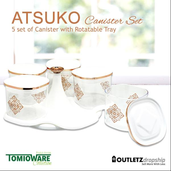 Atsuko Canister By Tomioware Collection3