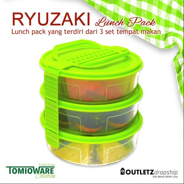Ryuzaki Lunch Pack - 3 Set1