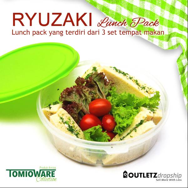 Ryuzaki Lunch Pack - 3 Set2