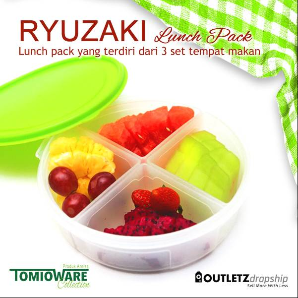 Ryuzaki Lunch Pack - 3 Set3
