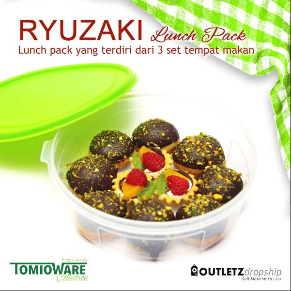 Ryuzaki Lunch Pack - 3 Set4