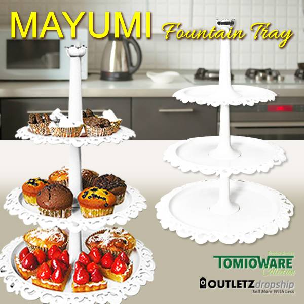 Mayumi Fountain Tray By Tomioware Collection0