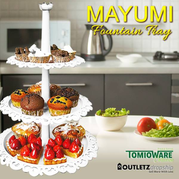 Mayumi Fountain Tray By Tomioware Collection2