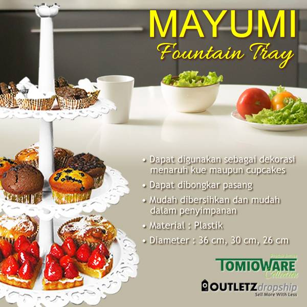 Mayumi Fountain Tray By Tomioware Collection4