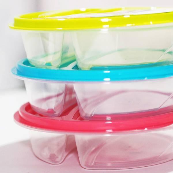 Lunch Box Bulat Sekat 2 (12 Set)3