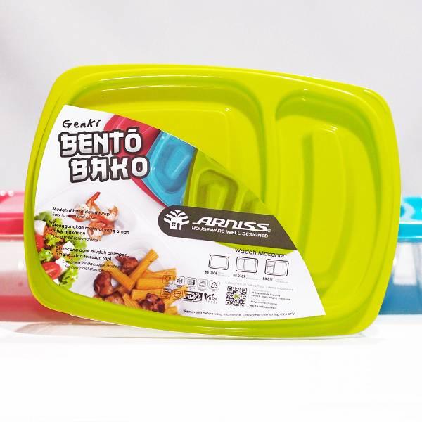 Lunch Box Kotak Sekat 2