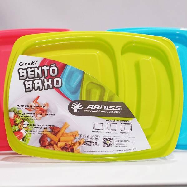 Lunch Box Kotak Sekat 22