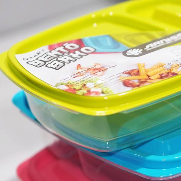 Lunch Box Kotak Sekat 23