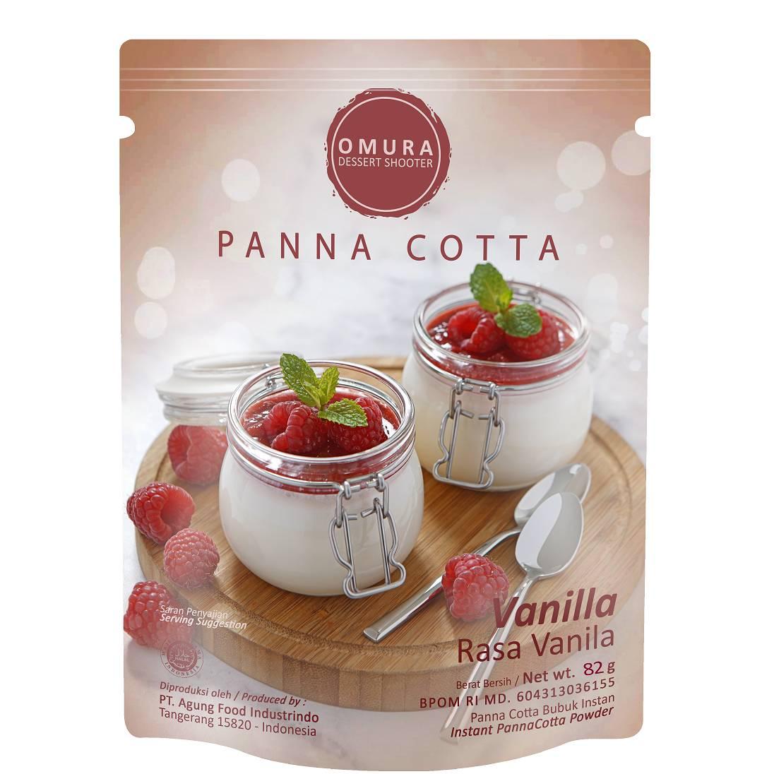 Omura Dessert Shooter - Panna Cotta Rasa Coklat 1 Lusin2