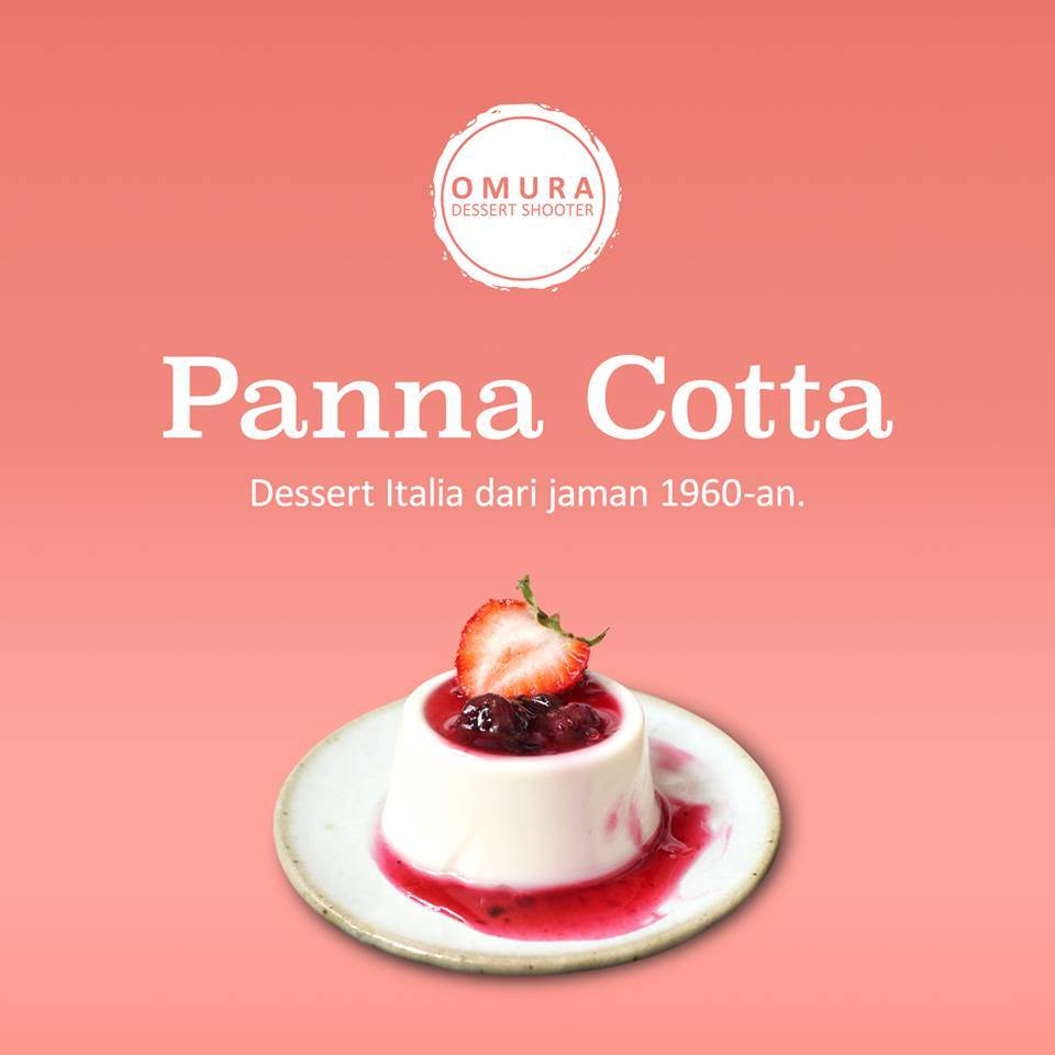 Omura Dessert Shooter - Panna Cotta Rasa Coklat 1 Lusin4