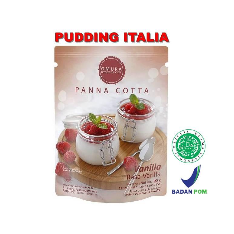 Omura Dessert Shooter - Panna Cotta1