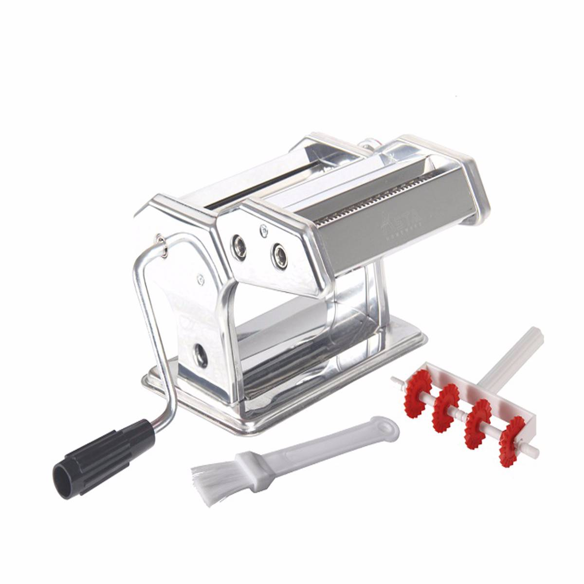 Asta Homeware Gilingan Mie / Pasta Maker ( Red , Orange & Silver/stainless Steel )1