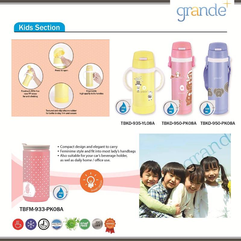 Grande Food Container Peach 350 Ml1