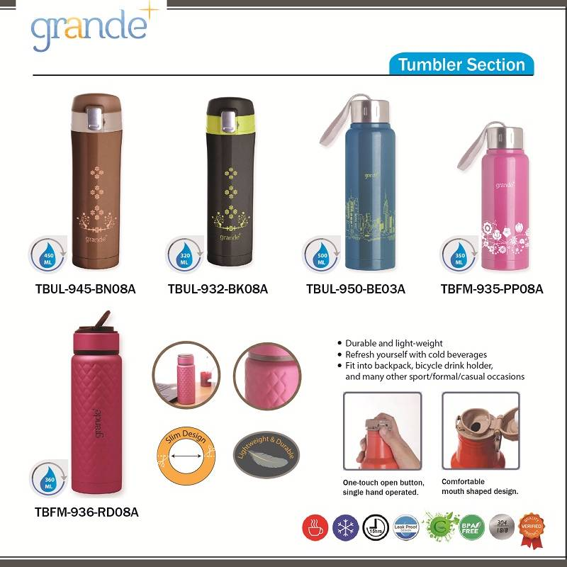 Grande Kid Tumbler Yellow 350 Ml2