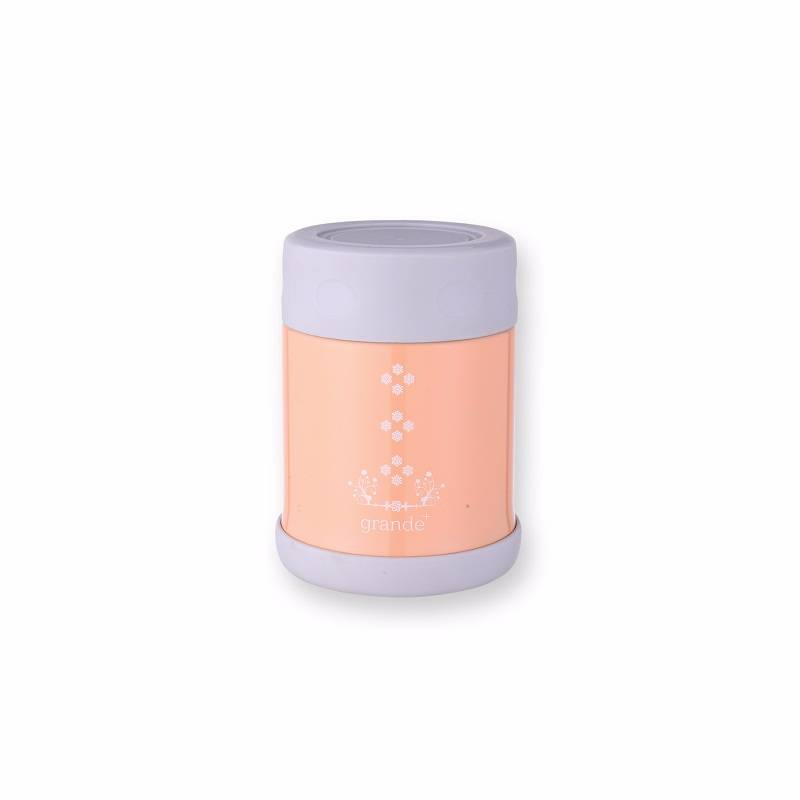 Grande Food Container Peach 350 Ml0
