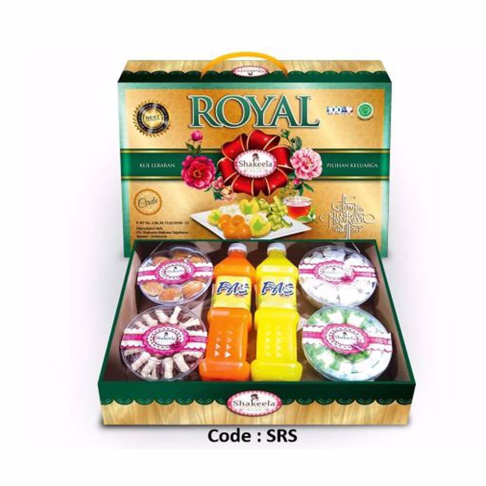 Kue Kering Shakeela Royal 2 Sirup