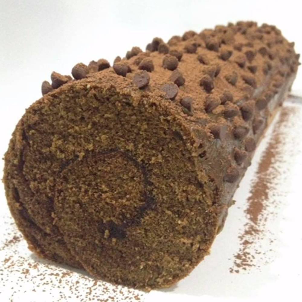 Chocochip Cocoa Roll Cake
