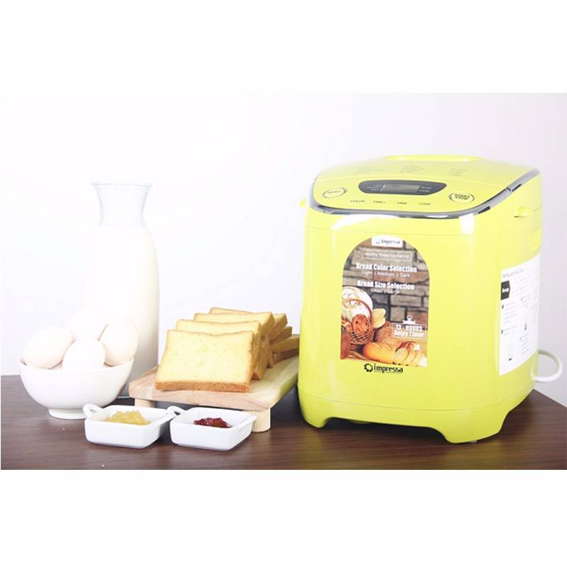 Bread Maker Pembuat Roti Impressa Green/white1