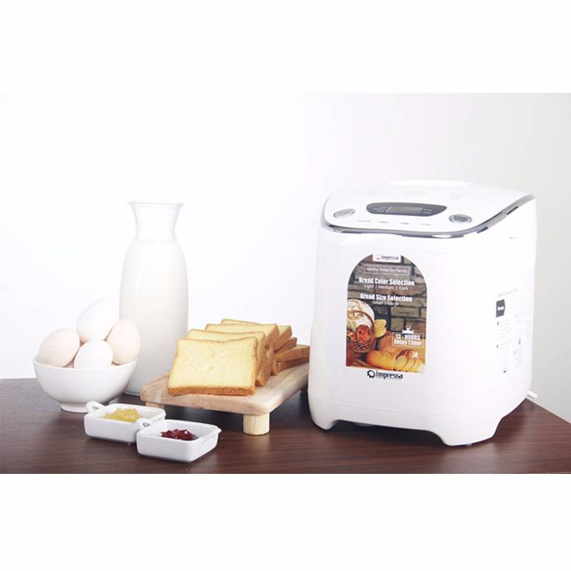 Bread Maker Pembuat Roti Impressa Green/white2