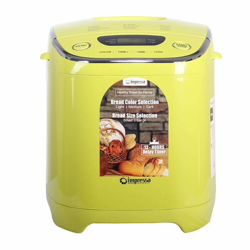 Bread Maker Pembuat Roti Impressa Green/white4