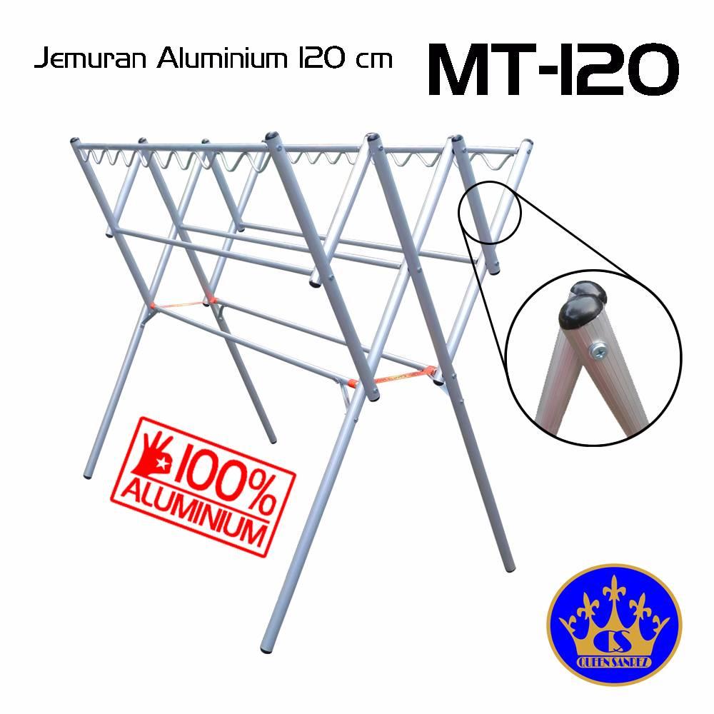 Jemuran Baju Aluminium Hanger 120 Cm