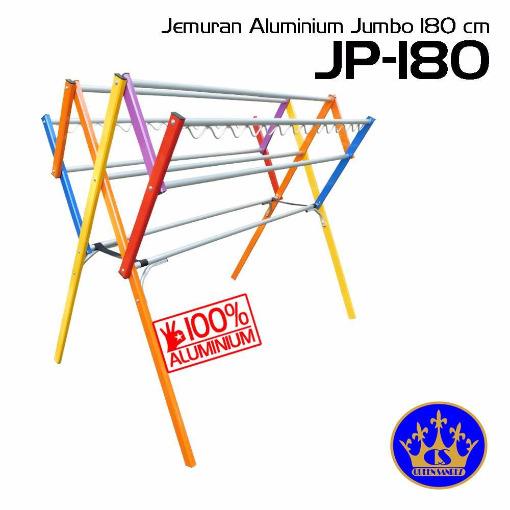 Jemuran Baju Aluminium Jumbo 180 Cm (9 Palang)