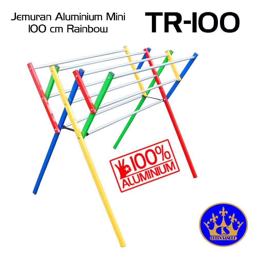 Jemuran Baju Aluminium Mini 100 Cm Rainbow