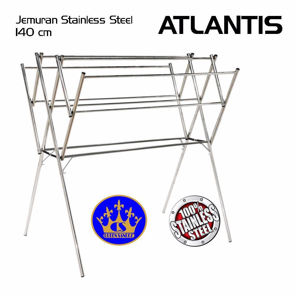 Jemuran Baju Stainless 140 Cm ( Atlantis )